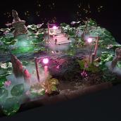Lotus Lake Diorama