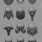 Mountain Brawl Beard concepts