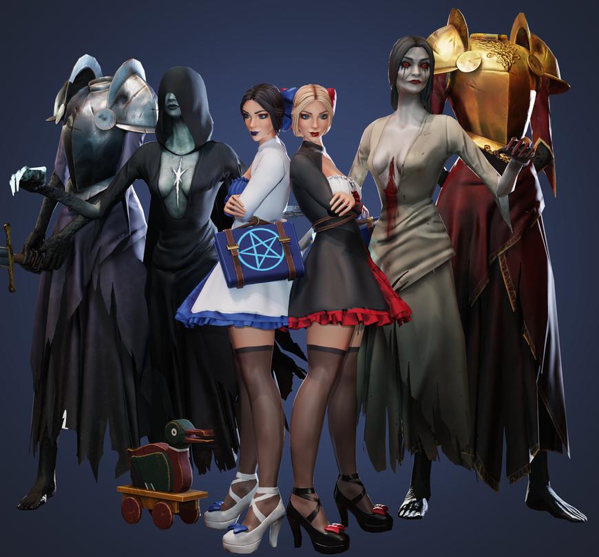 character models 3D