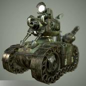Metal Slug Tank