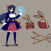 early concept art player character